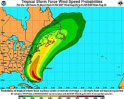 tropical storm Danny