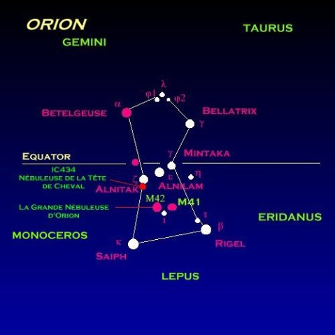 orion map
